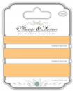 Satin Ribbon - Always & Forever - The Wedding Collection  - Peach 3m of each size - 10mm,15mm & 20mm